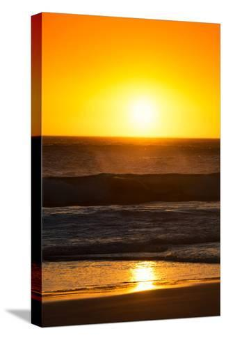 Awesome South Africa Collection - Sunset Blazing Sun over the Ocean I-Philippe Hugonnard-Stretched Canvas Print
