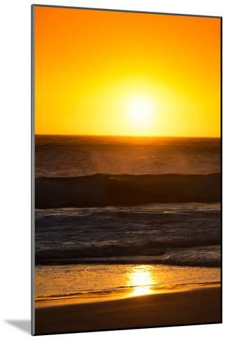 Awesome South Africa Collection - Sunset Blazing Sun over the Ocean I-Philippe Hugonnard-Mounted Photographic Print