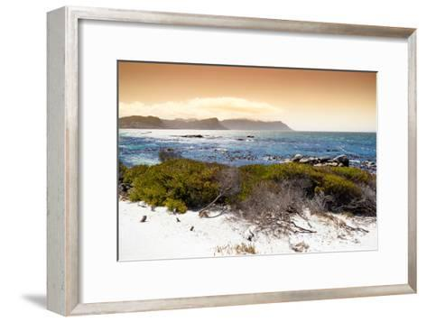 Awesome South Africa Collection - Sunset from Boulders Beach-Philippe Hugonnard-Framed Art Print