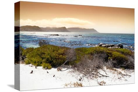 Awesome South Africa Collection - Sunset from Boulders Beach-Philippe Hugonnard-Stretched Canvas Print