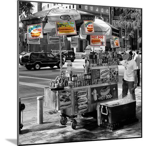 Safari CityPop Collection - NYC Hot Dog with Zebra Man II-Philippe Hugonnard-Mounted Photographic Print