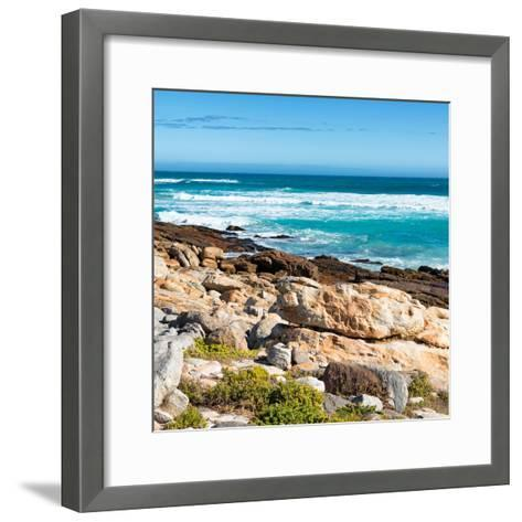 Awesome South Africa Collection Square - Natural Beauty - Cape Town II-Philippe Hugonnard-Framed Art Print
