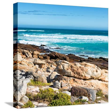 Awesome South Africa Collection Square - Natural Beauty - Cape Town II-Philippe Hugonnard-Stretched Canvas Print