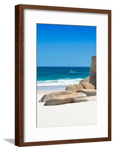 Awesome South Africa Collection - Boulders on the Beach II-Philippe Hugonnard-Framed Art Print