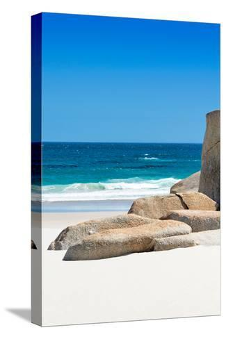 Awesome South Africa Collection - Boulders on the Beach II-Philippe Hugonnard-Stretched Canvas Print