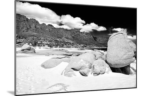 Awesome South Africa Collection B&W - The Twelve Apostles - Camps Bay-Philippe Hugonnard-Mounted Photographic Print