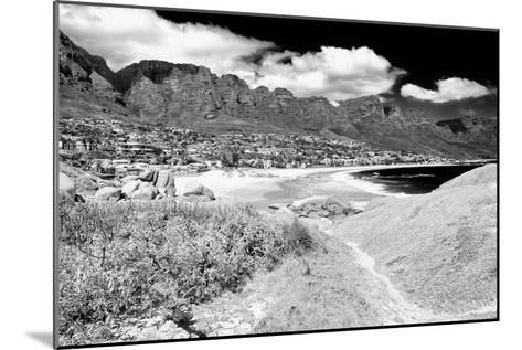 Awesome South Africa Collection B&W - The Twelve Apostles - Camps Bay II-Philippe Hugonnard-Mounted Photographic Print