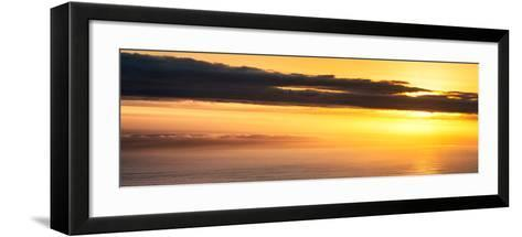 Awesome South Africa Collection Panoramic - Sea Tranquility at Sunset II-Philippe Hugonnard-Framed Art Print