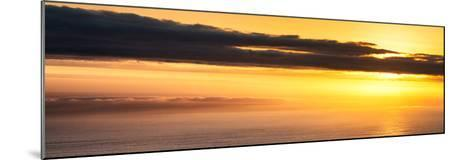 Awesome South Africa Collection Panoramic - Sea Tranquility at Sunset II-Philippe Hugonnard-Mounted Photographic Print