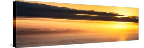 Awesome South Africa Collection Panoramic - Sea Tranquility at Sunset II-Philippe Hugonnard-Stretched Canvas Print