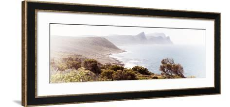 Awesome South Africa Collection Panoramic - South Peninsula Landscape - Cape Town II-Philippe Hugonnard-Framed Art Print