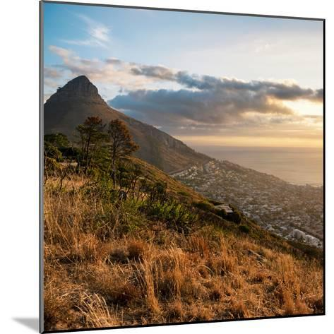 Awesome South Africa Collection Square - Cape Town at Sunset-Philippe Hugonnard-Mounted Photographic Print