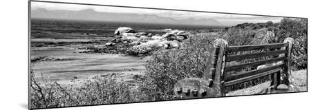 Awesome South Africa Collection Panoramic - View to the Sea B&W-Philippe Hugonnard-Mounted Photographic Print