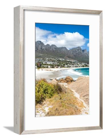 Awesome South Africa Collection - Camps Bay - Cape Town II-Philippe Hugonnard-Framed Art Print