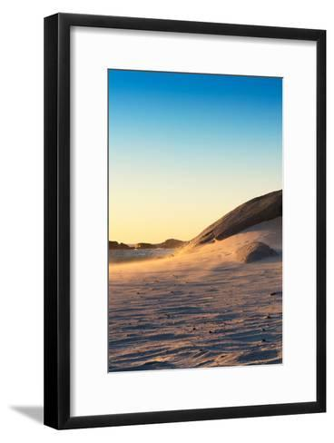 Awesome South Africa Collection - Sand Dune at Sunset III-Philippe Hugonnard-Framed Art Print