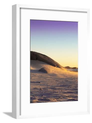 Awesome South Africa Collection - Sand Dune at Sunset IV-Philippe Hugonnard-Framed Art Print