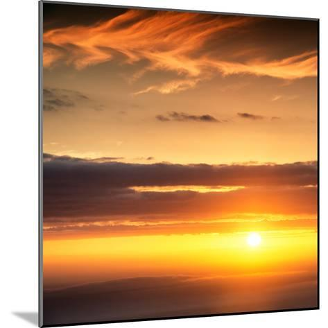 Awesome South Africa Collection Square - Sunset-Philippe Hugonnard-Mounted Photographic Print