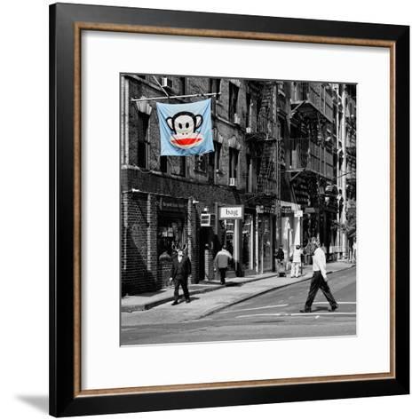 Safari CityPop Collection - Animal Kingdom in Manhattan II-Philippe Hugonnard-Framed Art Print