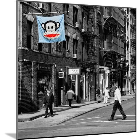 Safari CityPop Collection - Animal Kingdom in Manhattan II-Philippe Hugonnard-Mounted Photographic Print