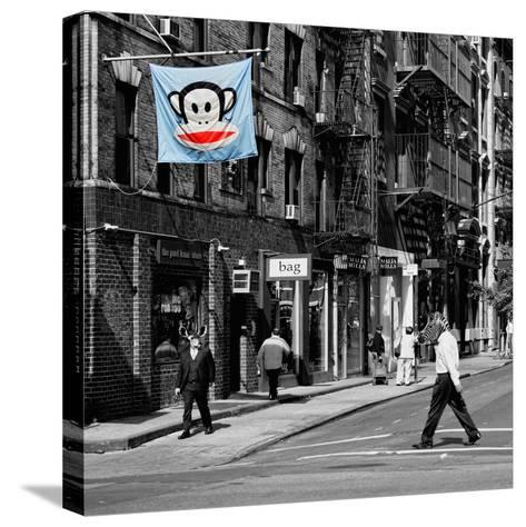 Safari CityPop Collection - Animal Kingdom in Manhattan II-Philippe Hugonnard-Stretched Canvas Print