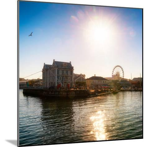 Awesome South Africa Collection Square - Cape Town Harbour at Sunset-Philippe Hugonnard-Mounted Photographic Print
