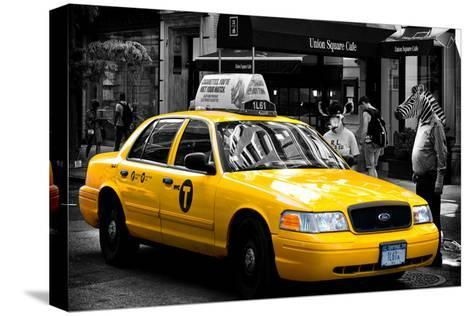 Safari CityPop Collection - NYC Union Square II-Philippe Hugonnard-Stretched Canvas Print