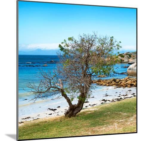 Awesome South Africa Collection Square - Alone on the Beach-Philippe Hugonnard-Mounted Photographic Print