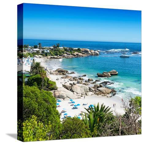 Awesome South Africa Collection Square - Clifton Beach - Camps Bay-Philippe Hugonnard-Stretched Canvas Print