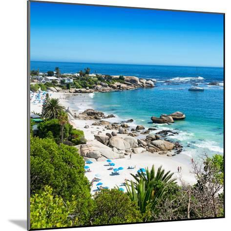 Awesome South Africa Collection Square - Clifton Beach - Camps Bay-Philippe Hugonnard-Mounted Photographic Print