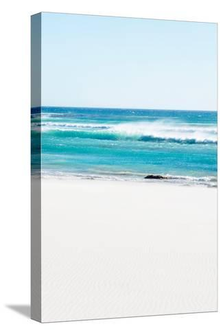 Awesome South Africa Collection - White Sand Beach III-Philippe Hugonnard-Stretched Canvas Print