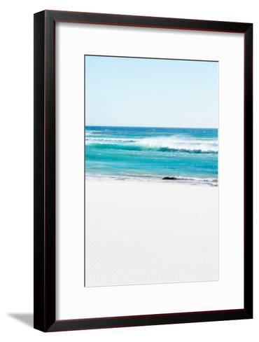 Awesome South Africa Collection - White Sand Beach III-Philippe Hugonnard-Framed Art Print
