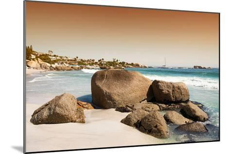 Awesome South Africa Collection - Clifton Beach at Sunset-Philippe Hugonnard-Mounted Photographic Print