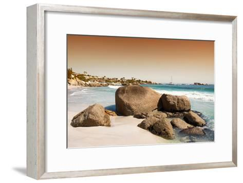 Awesome South Africa Collection - Clifton Beach at Sunset-Philippe Hugonnard-Framed Art Print