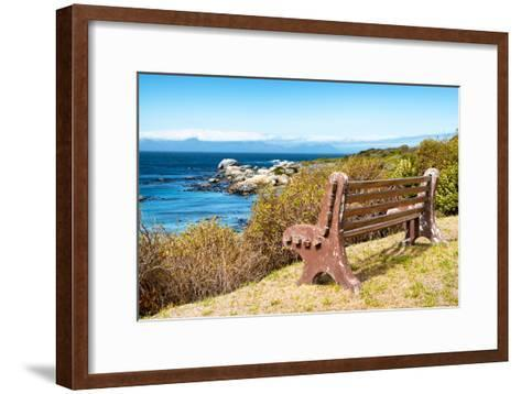 Awesome South Africa Collection - Lonely Bench II-Philippe Hugonnard-Framed Art Print