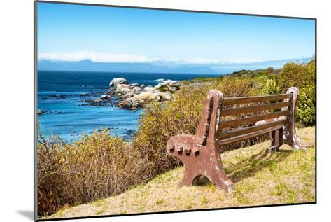 Awesome South Africa Collection - Lonely Bench II-Philippe Hugonnard-Mounted Photographic Print