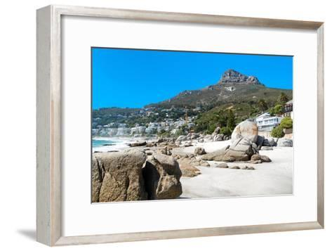 Awesome South Africa Collection - Clifton Beach - Cape Town II-Philippe Hugonnard-Framed Art Print