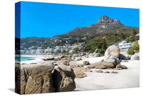 Awesome South Africa Collection - Clifton Beach - Cape Town II-Philippe Hugonnard-Stretched Canvas Print