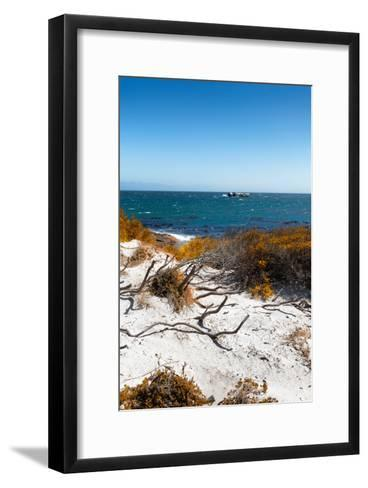 Awesome South Africa Collection - Wild Beach in Boulders Beach III-Philippe Hugonnard-Framed Art Print