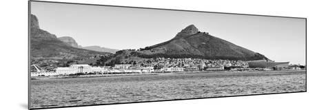 Awesome South Africa Collection Panoramic - Idyllic Moutain and sea Scenery - Cape Town B&W-Philippe Hugonnard-Mounted Photographic Print