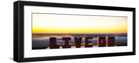 Awesome South Africa Collection Panoramic - LIVE ON-Philippe Hugonnard-Framed Art Print