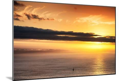 Awesome South Africa Collection - Sea Tranquility at Sunset II-Philippe Hugonnard-Mounted Photographic Print