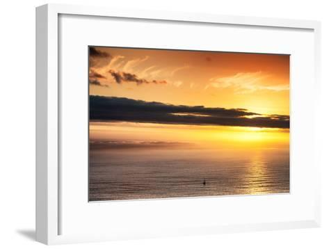 Awesome South Africa Collection - Sea Tranquility at Sunset II-Philippe Hugonnard-Framed Art Print