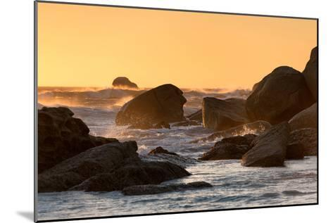 Awesome South Africa Collection - Power of the Ocean at Sunset-Philippe Hugonnard-Mounted Photographic Print