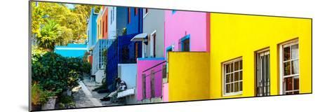 Awesome South Africa Collection Panoramic - Colorful Houses - Cape Town II-Philippe Hugonnard-Mounted Photographic Print