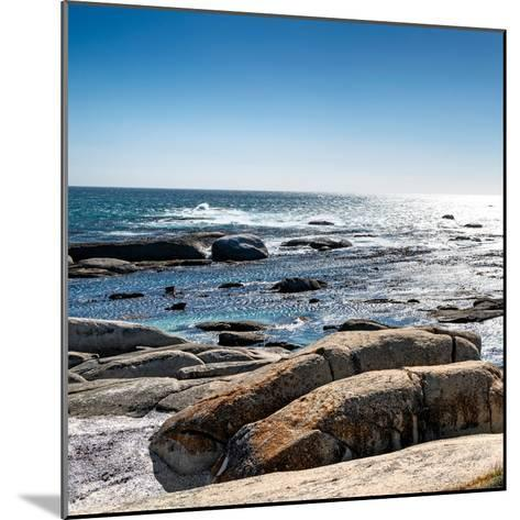 Awesome South Africa Collection Square - View of the South Atlantic Ocean II-Philippe Hugonnard-Mounted Photographic Print