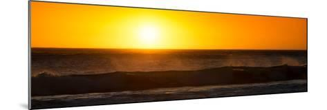 Awesome South Africa Collection Panoramic - Ocean at Sunset-Philippe Hugonnard-Mounted Photographic Print