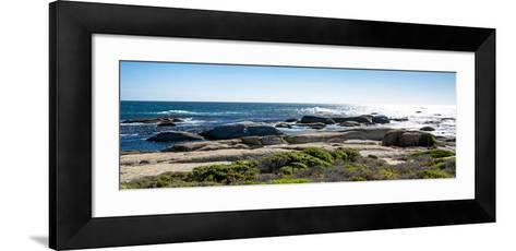 Awesome South Africa Collection Panoramic - Ocean View-Philippe Hugonnard-Framed Art Print