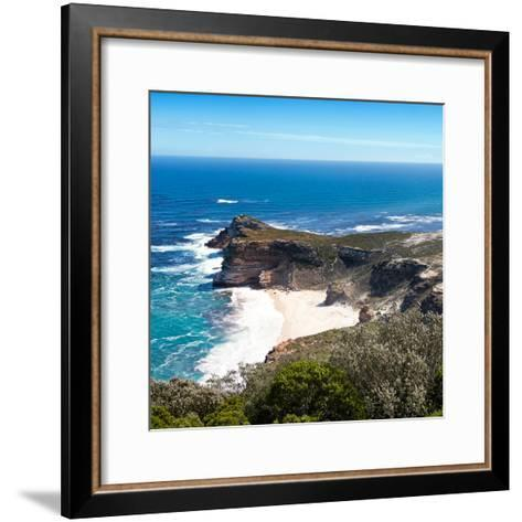 Awesome South Africa Collection Square - Cape of Good Hope-Philippe Hugonnard-Framed Art Print