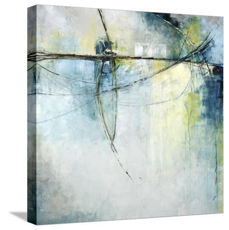 Island Waterfall-Kari Taylor-Stretched Canvas Print