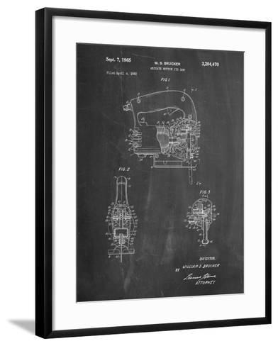 Black and Decker Jigsaw Patent-Cole Borders-Framed Art Print